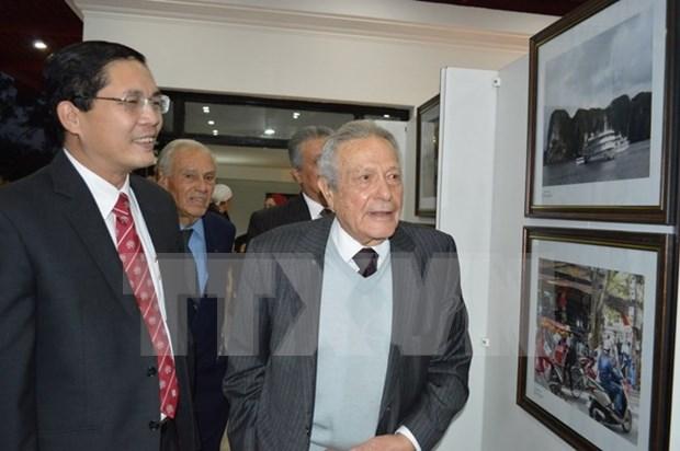 Exhiben en Egipto fotos de logros de reformas en Vietnam hinh anh 1