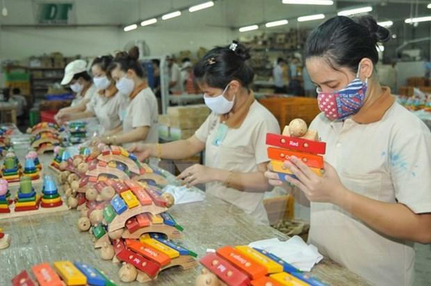 Industria global de juguetes pone ojos en entorno inversionista de Vietnam hinh anh 1