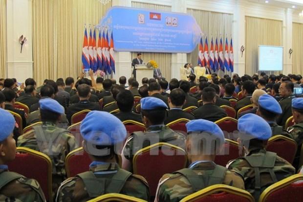 Camboya revisa una decada de participacion en misiones de ONU hinh anh 1