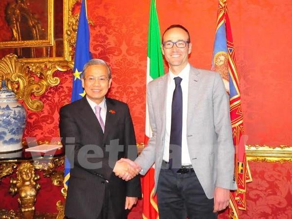 Regiones italianas priorizan cooperacion con localidades de Vietnam hinh anh 1