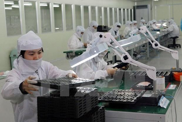 Vietnam y Sudcorea cooperan en el desarrollo de la industria auxiliar hinh anh 1