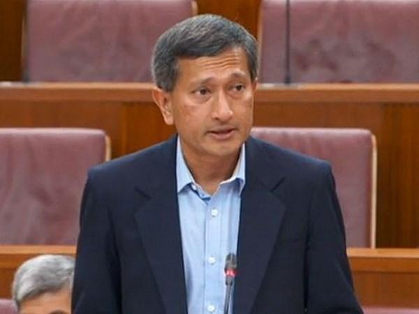 Singapur sugiere solucion provisional a disputas en el Mar del Este hinh anh 1