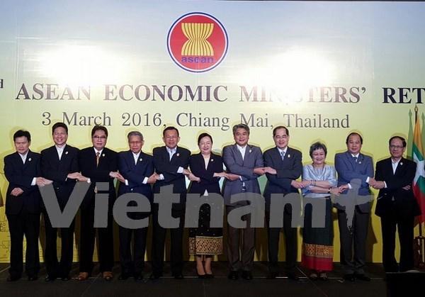 Inauguran conferencia de ministros de Economia de ASEAN en Tailandia hinh anh 1