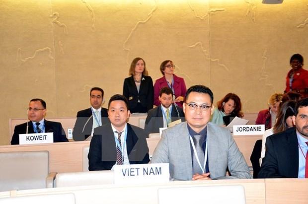 Vietnam preside debates sobre impactos del cambio climatico en Ginebra hinh anh 1
