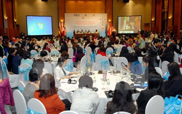Foro de ASEAN busca aumentar empoderamiento economico de mujeres hinh anh 1