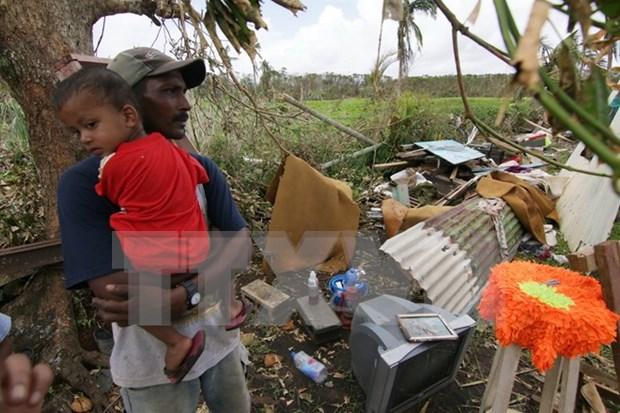 Vietnam expresa condolencias a Fiji por supertifon Winston hinh anh 1
