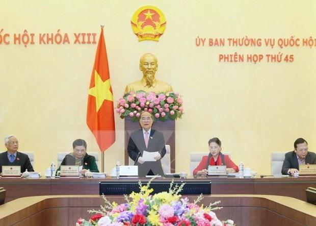 Comite Permanente del Parlamento aborda varios temas en proxima reunion hinh anh 1