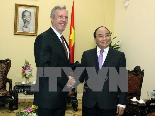 Visita de Obama contribuira a elevar los nexos, expresa viceprimer vietnamita hinh anh 1