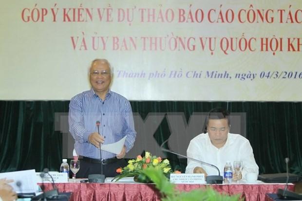 Analizan en Vietnam labores del Parlamento de XIII legislatura hinh anh 1
