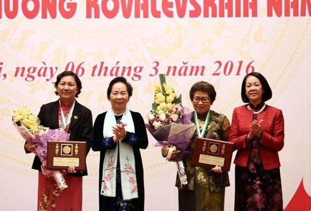 Organiza Vietnam acto conmemorativo a aniversario 30 de Premio Kovalevskaika hinh anh 1