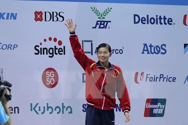 Obtiene Vietnam otro boleto para Juegos Olimpicos 2016 en natacion hinh anh 1