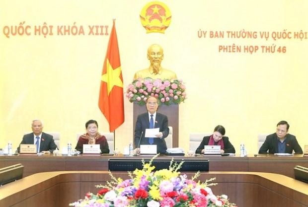 Comienza reunion 46 de Comite Permanente de Parlamento vietnamita hinh anh 1