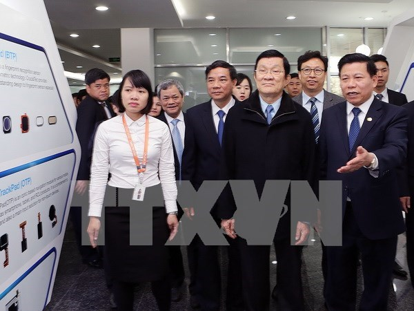 Presidente vietnamita urge Bac Ninh desarrollar recursos humanos hinh anh 1