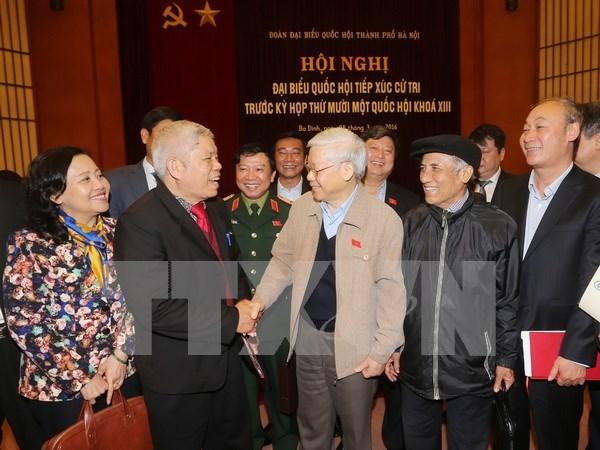 Lider partidista destaca eleccion democratica y responsable de diputados hinh anh 1