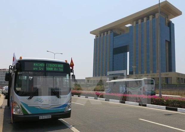 En servicios Binh Duong otras lineas de autobuses al estilo japones hinh anh 1