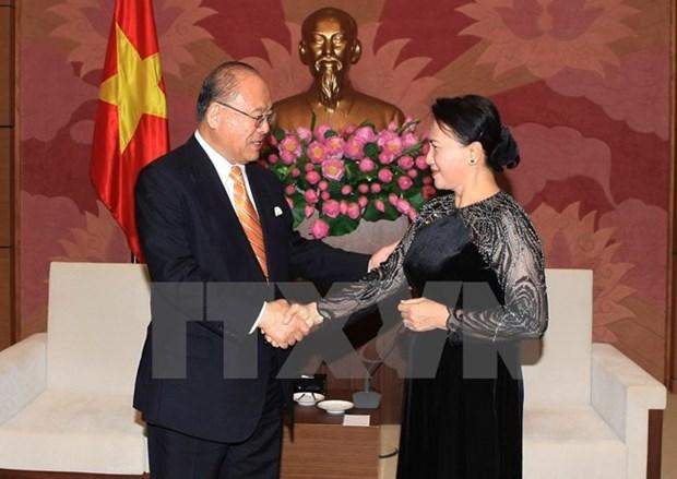 Intensifican cooperacion parlamentaria Vietnam-Japon hinh anh 1