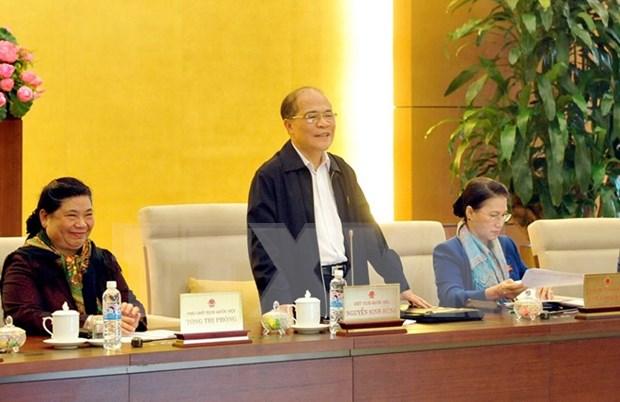 Parlamento vietnamita aprueba Ordenanza de gestion del mercado hinh anh 1