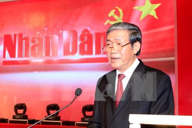 Periodico Nhan Dan honrado con Orden de Independencia hinh anh 1
