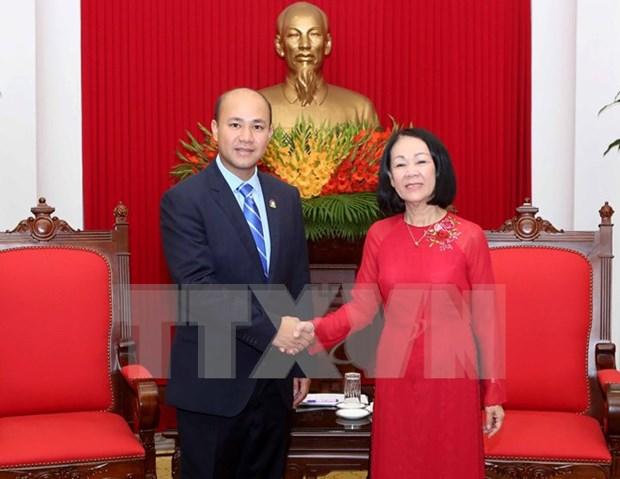 Trabajan Vietnam y Camboya por robustecer cooperacion juvenil hinh anh 1