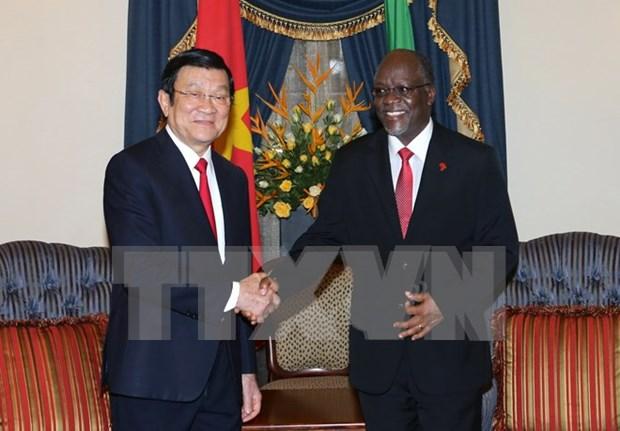Vietnam – Tanzania buscan renovar nexos tradicionales de amistad y cooperacion hinh anh 1