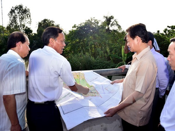 Asistencias financieras a provincias vietnamitas afectadas por sequia hinh anh 1