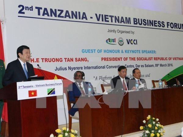 Vietnam espera promover nexos con Tanzania en agricultura y telecomunicaciones hinh anh 1