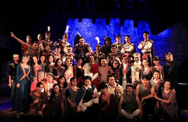 """Artistas vietnamitas interpretaran """"Hamlet"""" en Singapur hinh anh 1"""