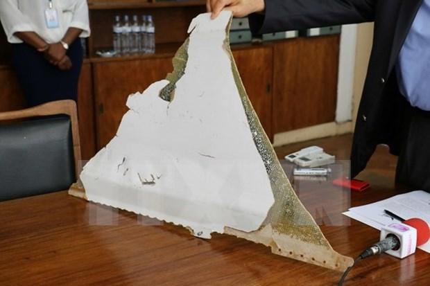 MH370: Fragmento hallado en Mozambique llega a Malasia hinh anh 1