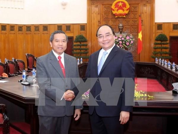 Vietnam y Laos comparten experiencias en desarrollo cientifico hinh anh 1