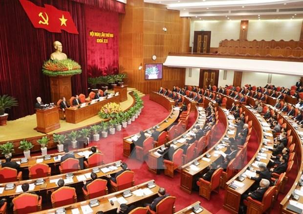 Comite Central del PCV continua debates sobre plan socioeconomico hinh anh 1