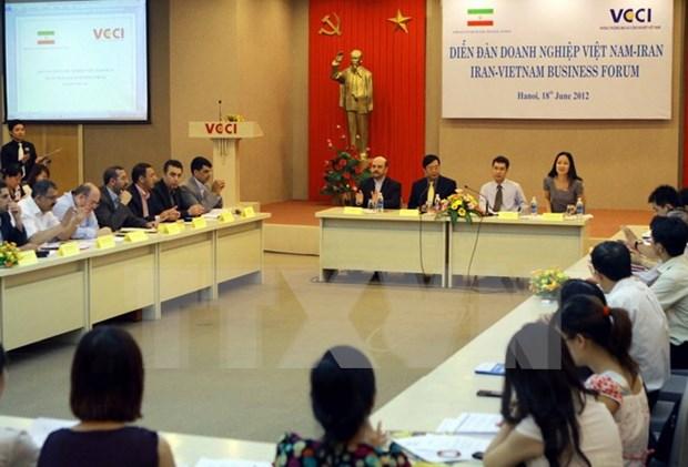 Vietnam e Iran promoveran cooperacion en petroquimica durante visita del presidente hinh anh 1