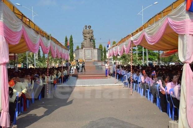 Inauguran Monumento de Martires Cambodia- Vietnam hinh anh 1