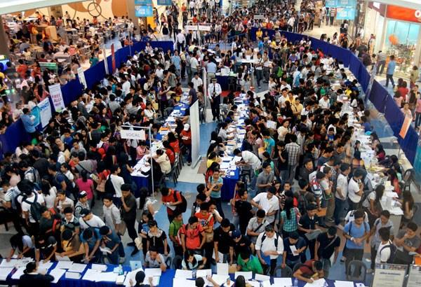 Filipinas: Tasa de desempleo toca fondo en diez anos hinh anh 1