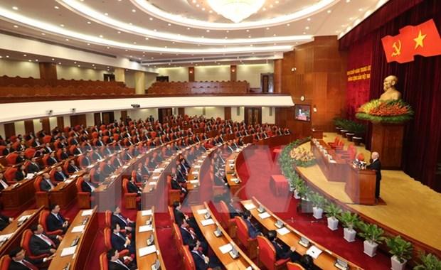 Pleno de Comite Central de PCV: Medidas urgentes para avance socioeconomico hinh anh 1
