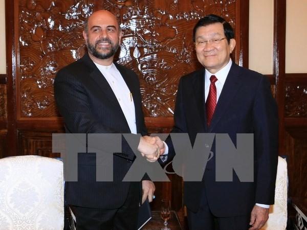Vietnam e Iran promoveran nexos economicos y comerciales hinh anh 1