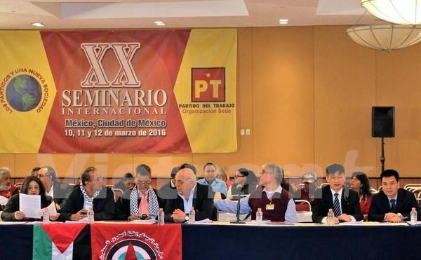 Partidos comunistas latinoamericanos desean forjar cooperacion con PCV hinh anh 1