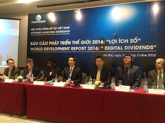 Banco Mundial presenta informe sobre desarrollo mundial 2016 en Hanoi hinh anh 1
