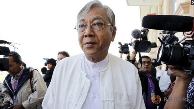 Parlamento de Myanmar elegira manana al nuevo presidente hinh anh 1