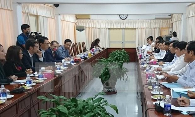 Celebraran conferencia de cooperacion entre localidades de Vietnam y Francia hinh anh 1