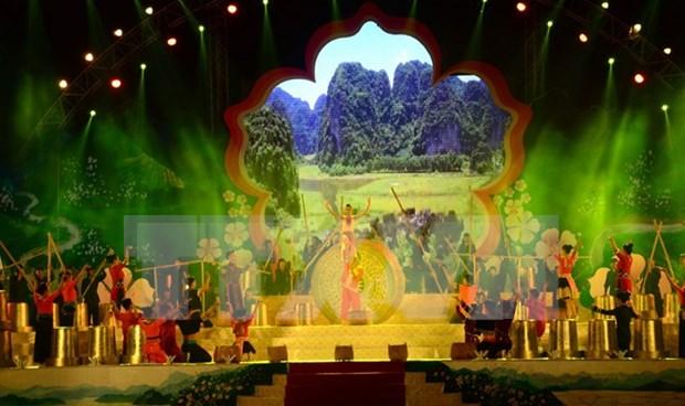 Inauguran en Dien Bien fiesta de Flor de Bauhinia hinh anh 1
