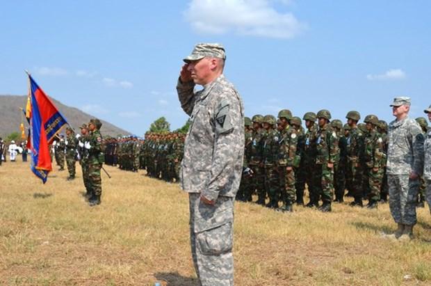 Camboya y Estados Unidos iniciaron ejercicio conjunto hinh anh 1