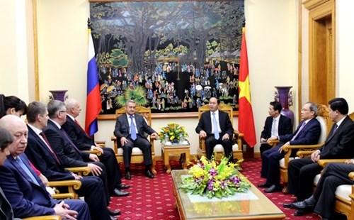 Vietnam y Rusia profundizan cooperacion en seguridad hinh anh 1