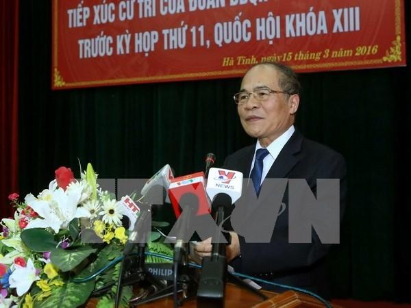 Electores en provincia vietnamita satisfechos ante reformas de Asamblea Nacional hinh anh 1