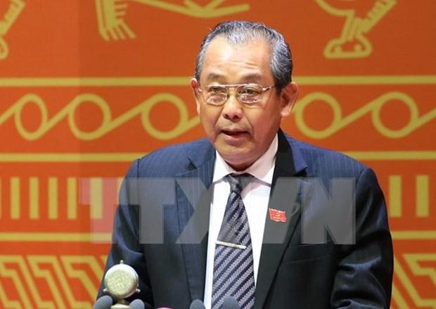 Tribunal Popular Supremo de Vietnam abandera la lucha anticorrupcion hinh anh 1
