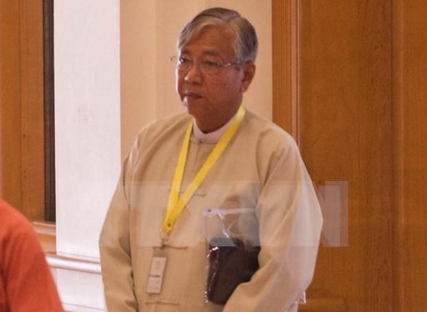 Myanmar: Htin Kyaw de partido gobernante elegido como nuevo presidente hinh anh 1