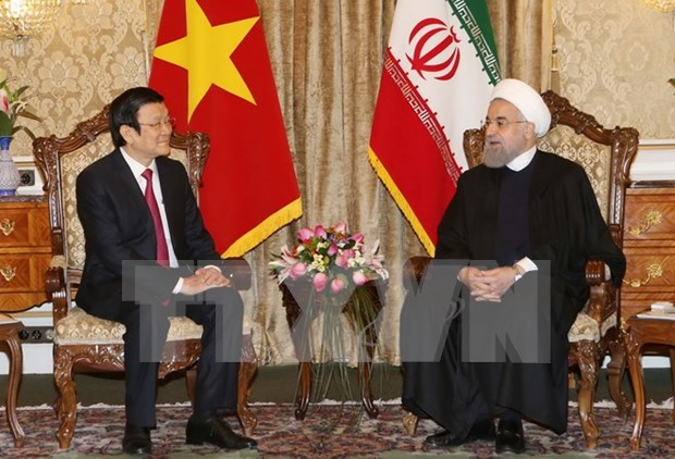 Vietnam e Iran acuerdan elevar comercio bilateral a dos mil millones de dolares hinh anh 1