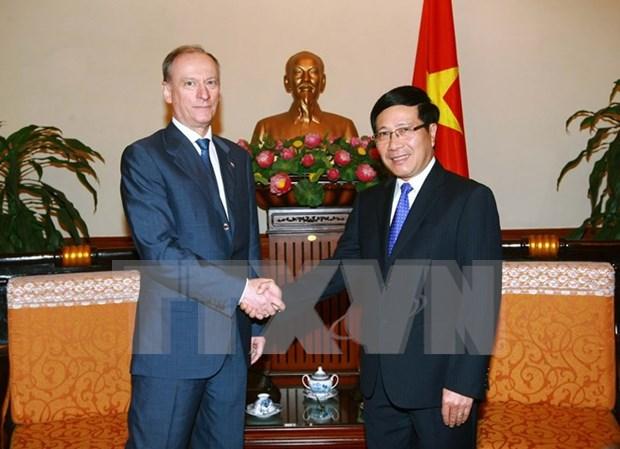 Vietnam y Rusia realzan papel de leyes globales en solucion de problemas regionales hinh anh 1