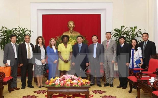 Vietnam aspira a recibir mas asistencia de Banco Mundial hinh anh 1
