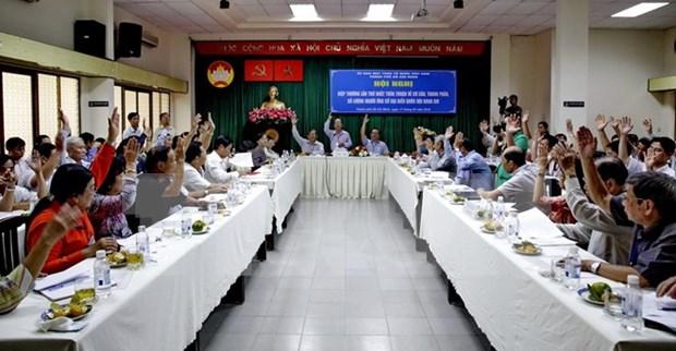 Presentacion de autocandidaturas asegura la democracia en elecciones legislativas hinh anh 1
