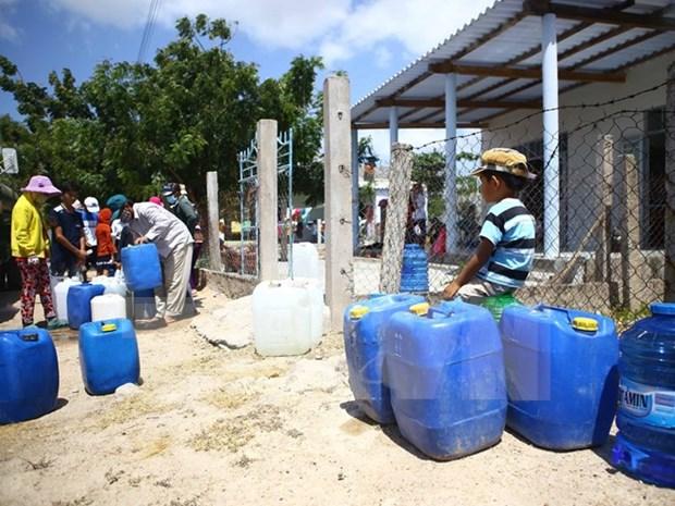 Comunidad mundial ofrece sugerencias para enfrentamiento de salinizacion en Vietnam hinh anh 1